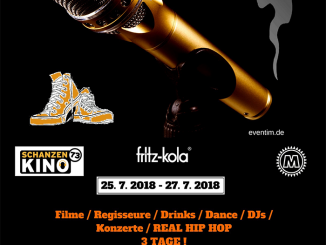 Golden Sneaker International Hip Hop Film Festival Hamburg 2018