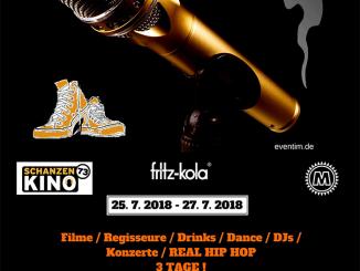 Golden Sneaker International Hip Hop Film Festival Hamburg 2018