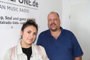 Haszcara und Jörg Wachsmuth bei PELI ONE (Foto: WMG)