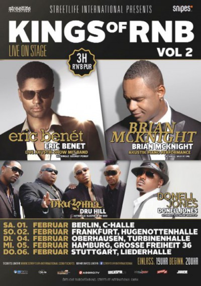 rap2soul präsentiert KINGS of RNB Vol. 2