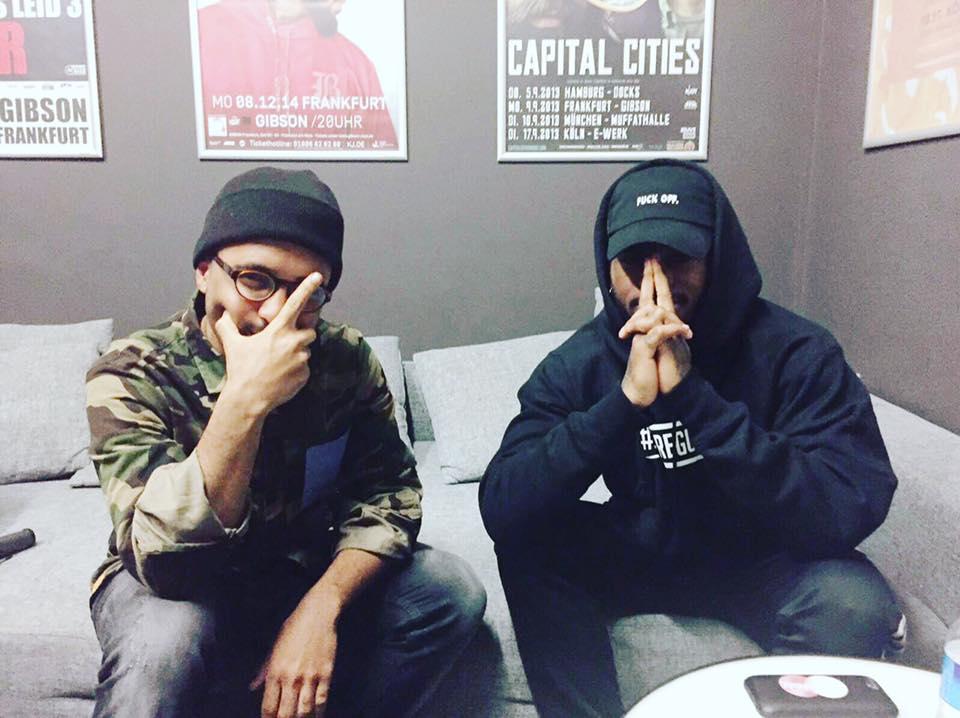 Bryson Tiller mit Malcolm (Foto: rap2soul)