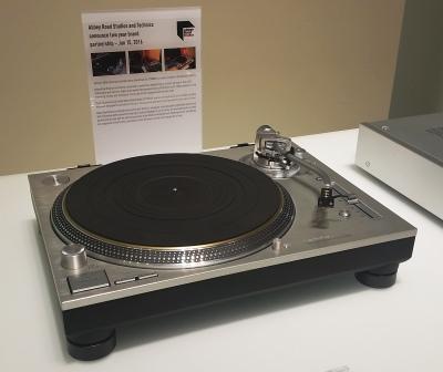 Technics Plattenspieler SL-1200 2016 (Foto: rap2soul)